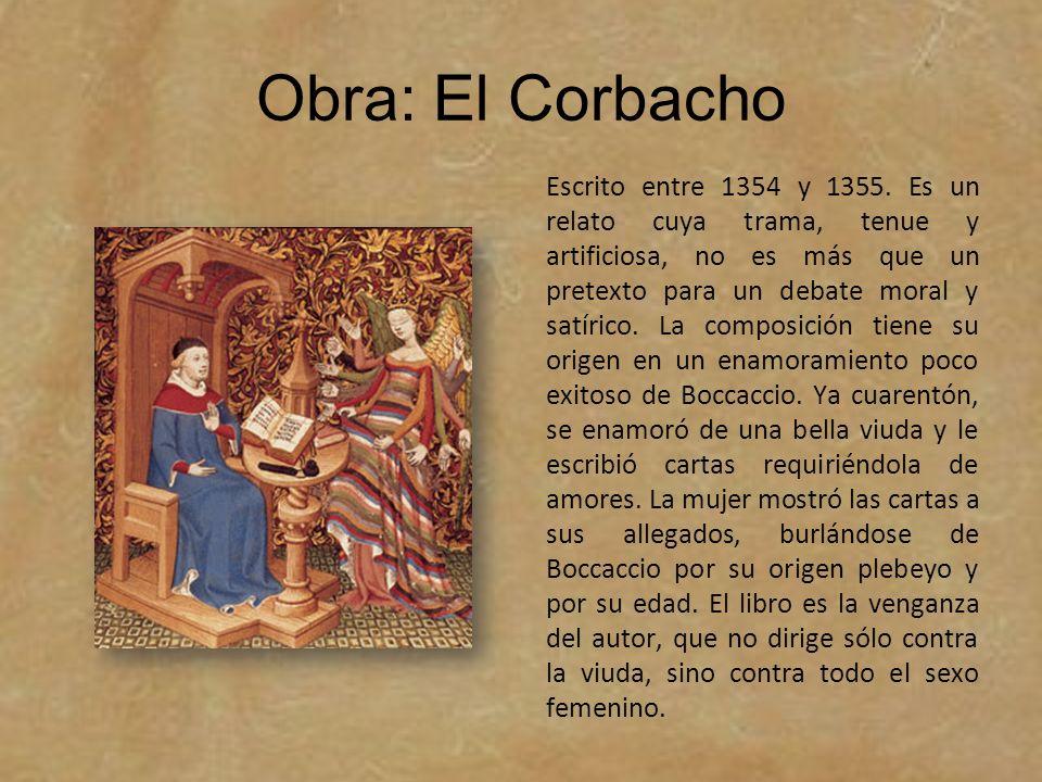 Obra: El Corbacho