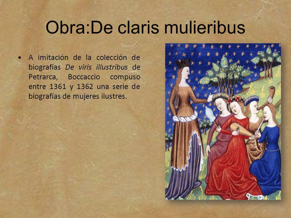 Obra:De claris mulieribus