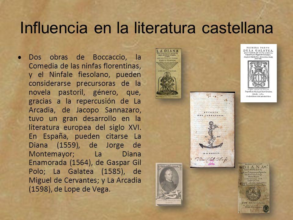 Influencia en la literatura castellana