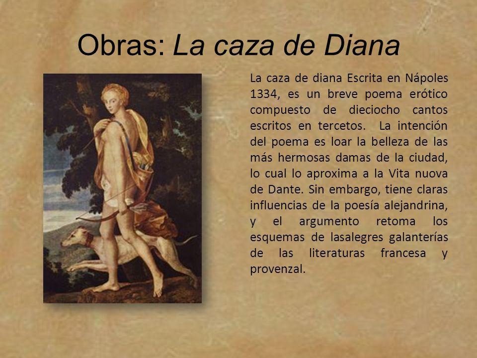 Obras: La caza de Diana