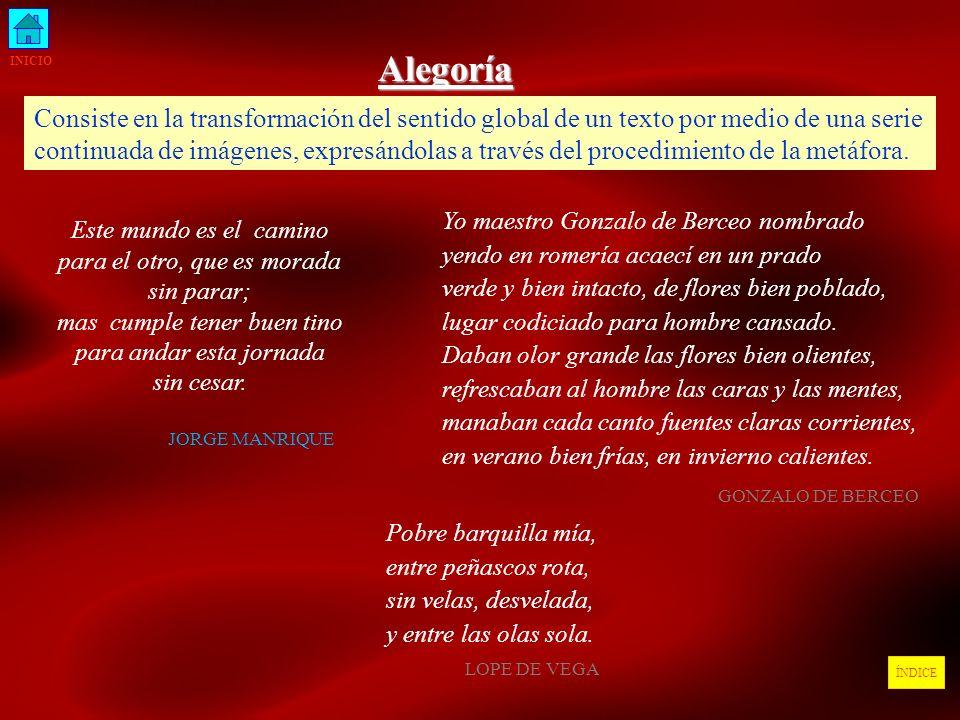 Alegoría INICIO.