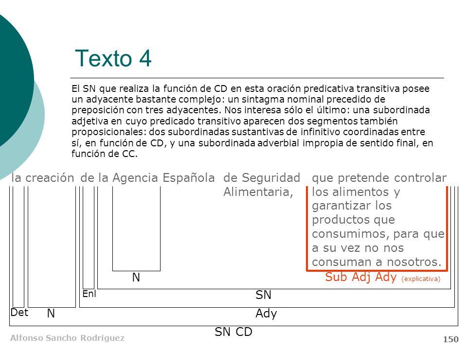 Texto 4 la creación de la Agencia Española de Seguridad Alimentaria,