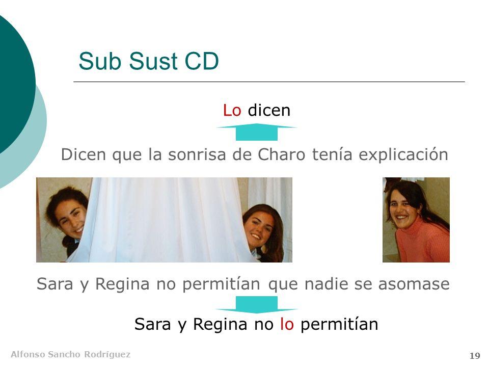 Sub Sust CD Lo dicen Dicen que la sonrisa de Charo tenía explicación