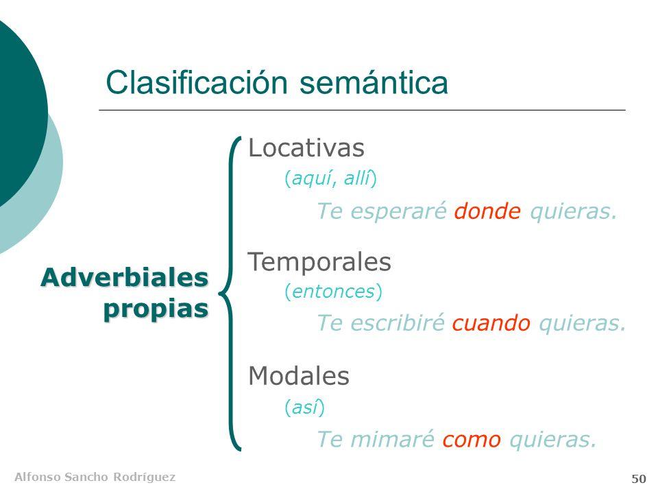 Clasificación semántica