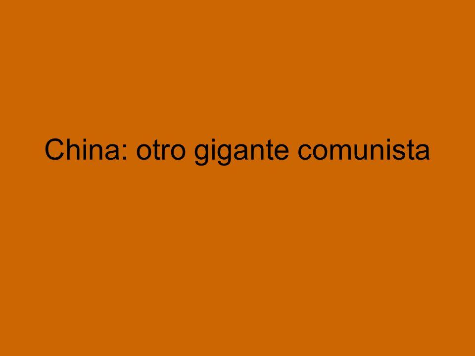 China: otro gigante comunista