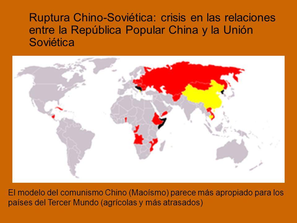 Ruptura Chino-Soviética: crisis en las relaciones entre la República Popular China y la Unión Soviética