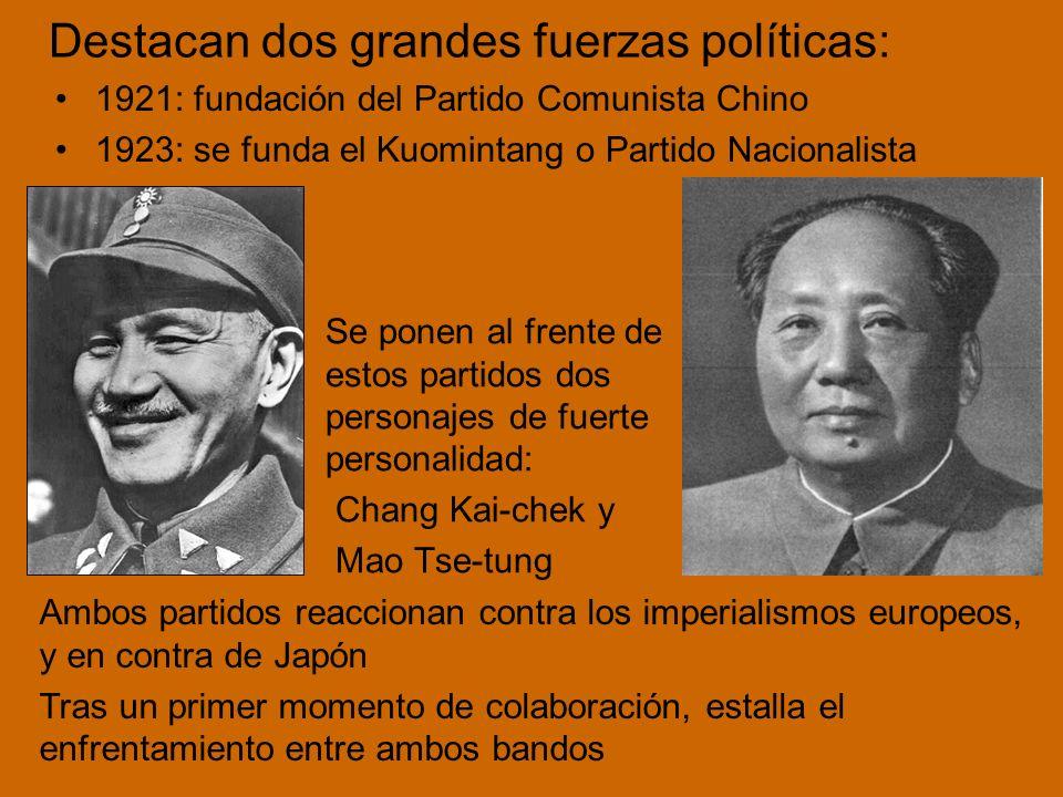 Destacan dos grandes fuerzas políticas: