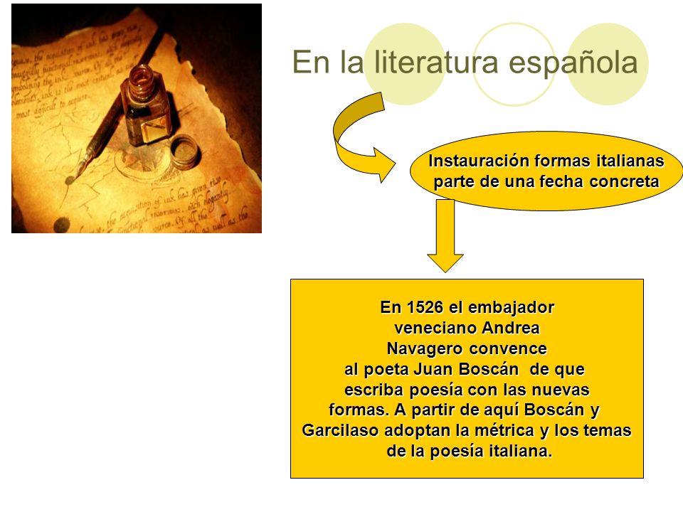 En la literatura española