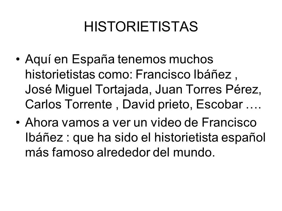 HISTORIETISTAS