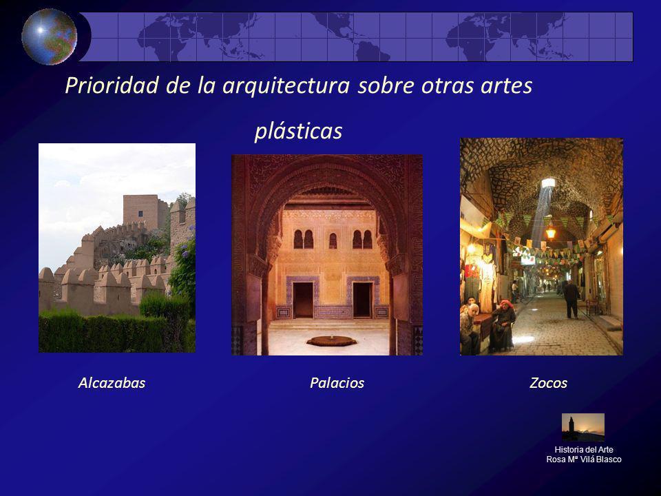 Prioridad de la arquitectura sobre otras artes plásticas