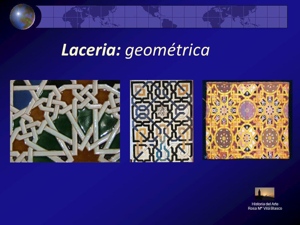 Laceria: geométrica Historia del Arte Rosa Mª Vilá Blasco