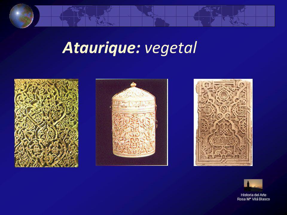 Ataurique: vegetal Historia del Arte Rosa Mª Vilá Blasco
