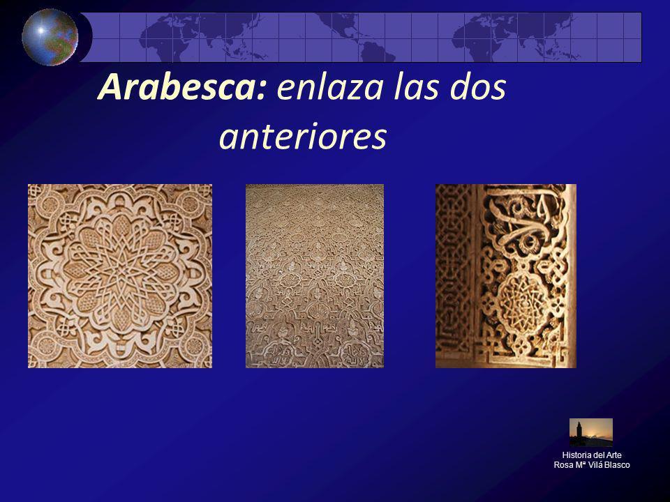 Arabesca: enlaza las dos anteriores