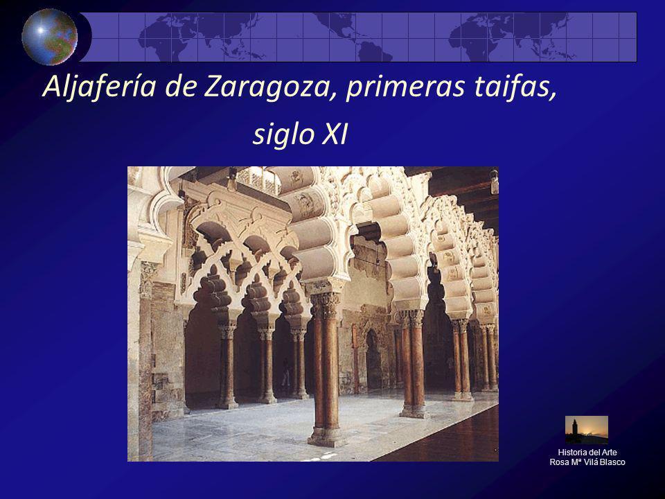 Aljafería de Zaragoza, primeras taifas, siglo XI