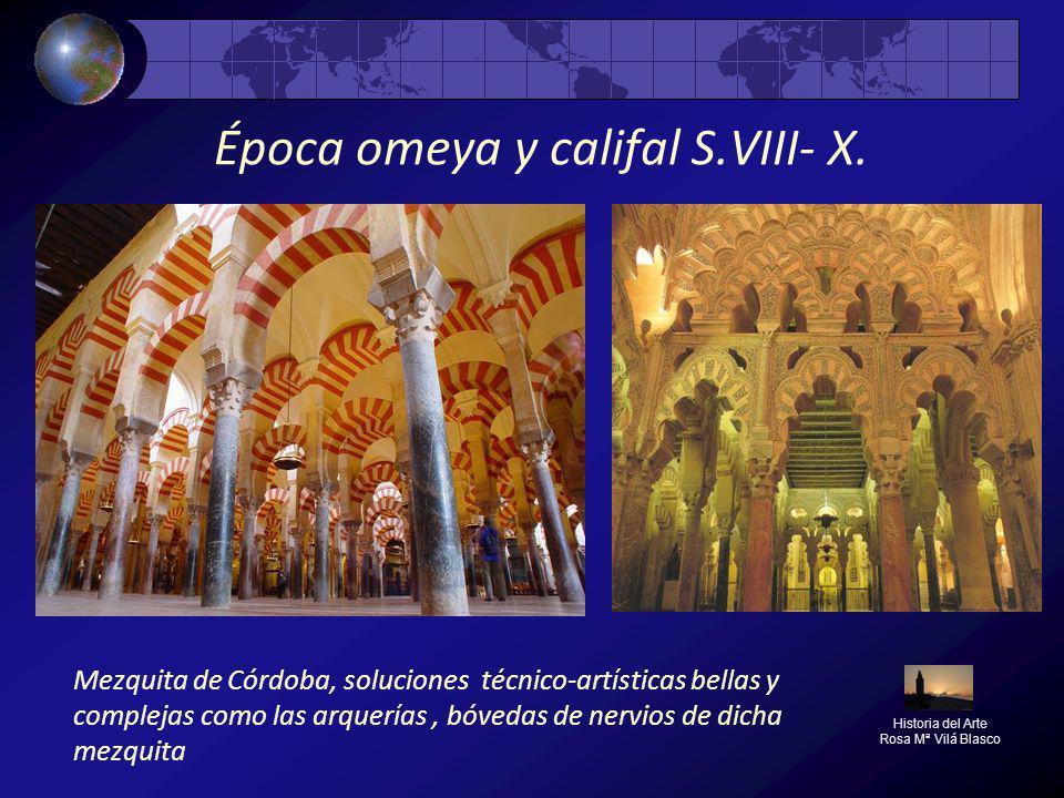 Época omeya y califal S.VIII- X.