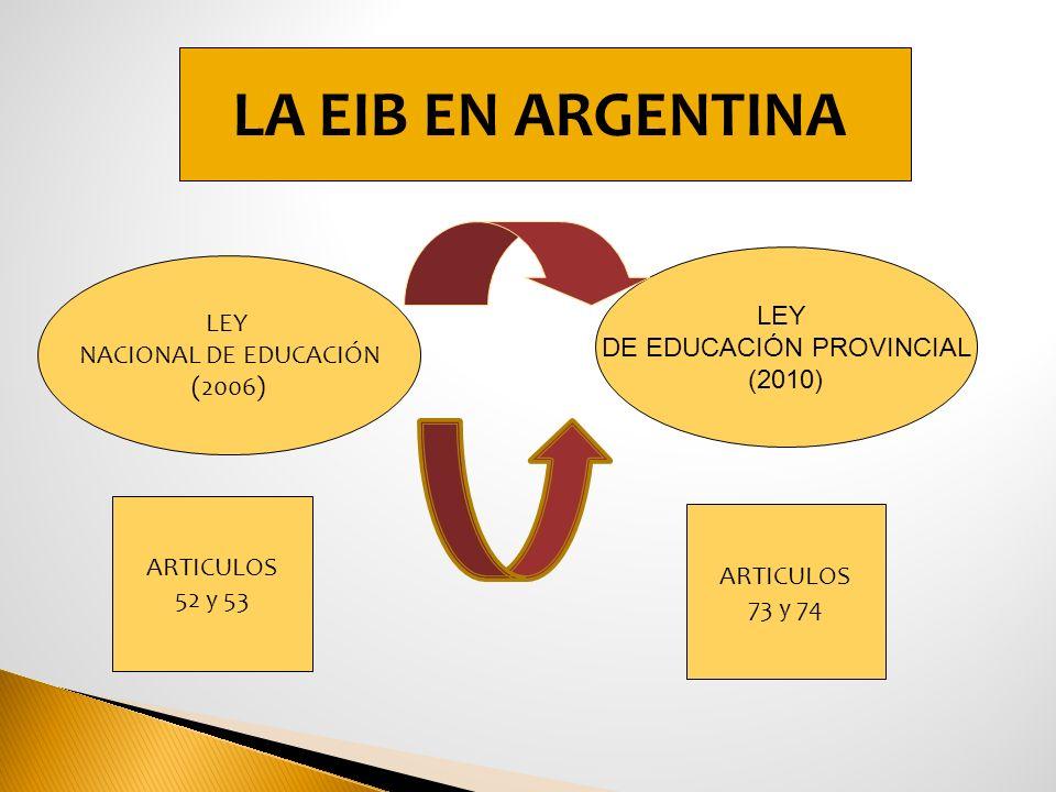 DE EDUCACIÓN PROVINCIAL