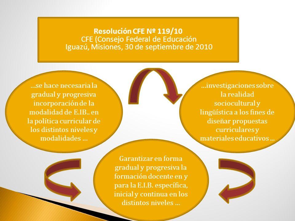 CFE (Consejo Federal de Educación