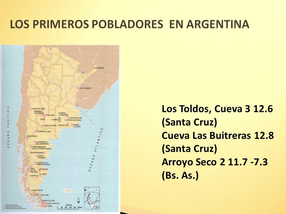 LOS PRIMEROS POBLADORES EN ARGENTINA