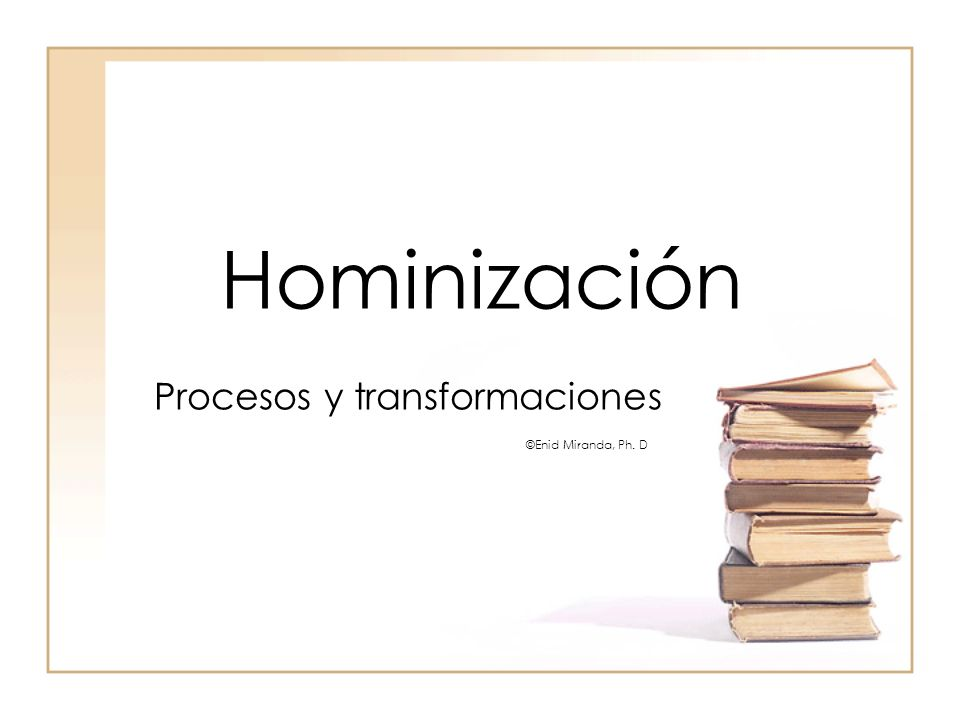 Procesos y transformaciones ©Enid Miranda, Ph. D