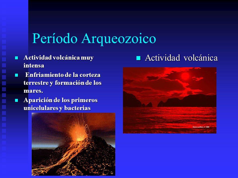 Período Arqueozoico Actividad volcánica