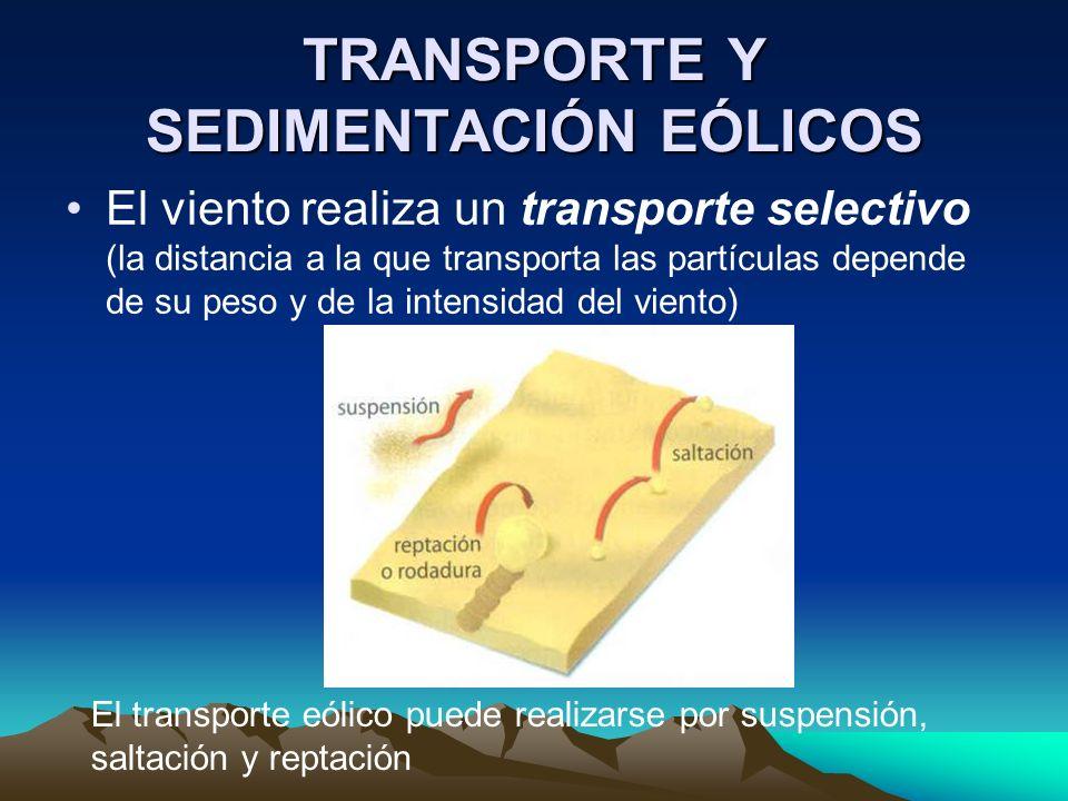 TRANSPORTE Y SEDIMENTACIÓN EÓLICOS