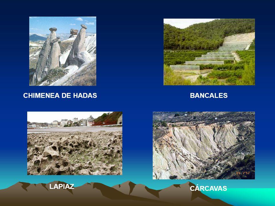 CHIMENEA DE HADAS BANCALES LAPIAZ CÁRCAVAS