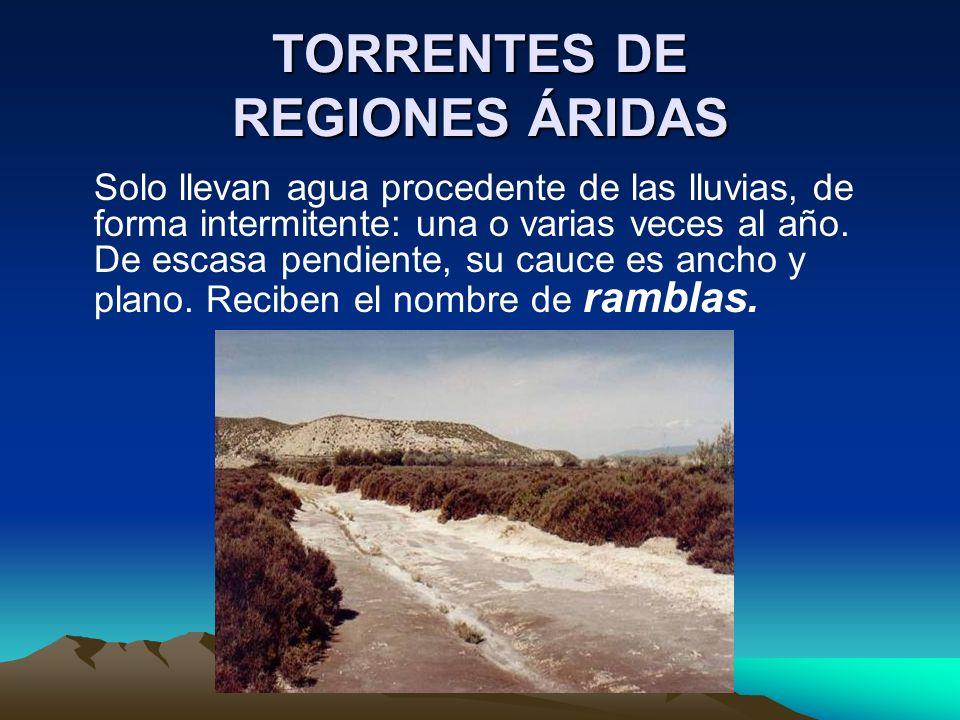 TORRENTES DE REGIONES ÁRIDAS