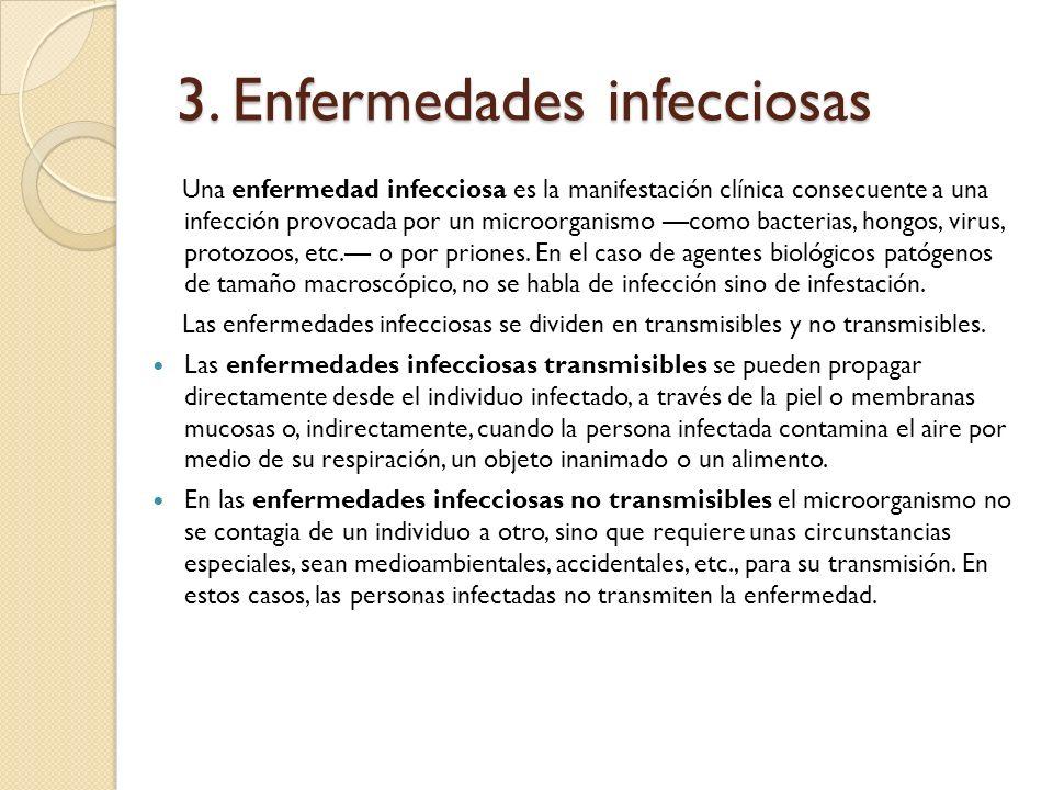 3. Enfermedades infecciosas