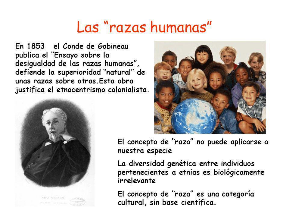 Las razas humanas