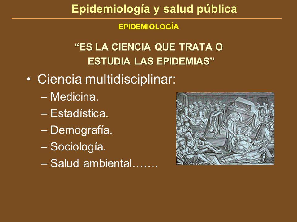 Ciencia multidisciplinar: