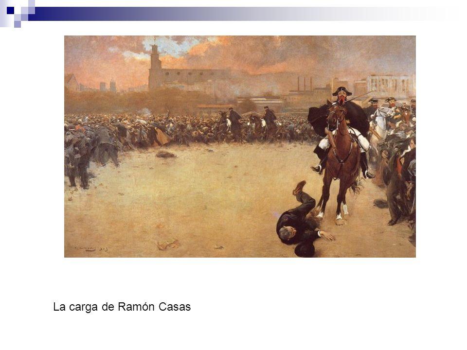 La carga de Ramón Casas