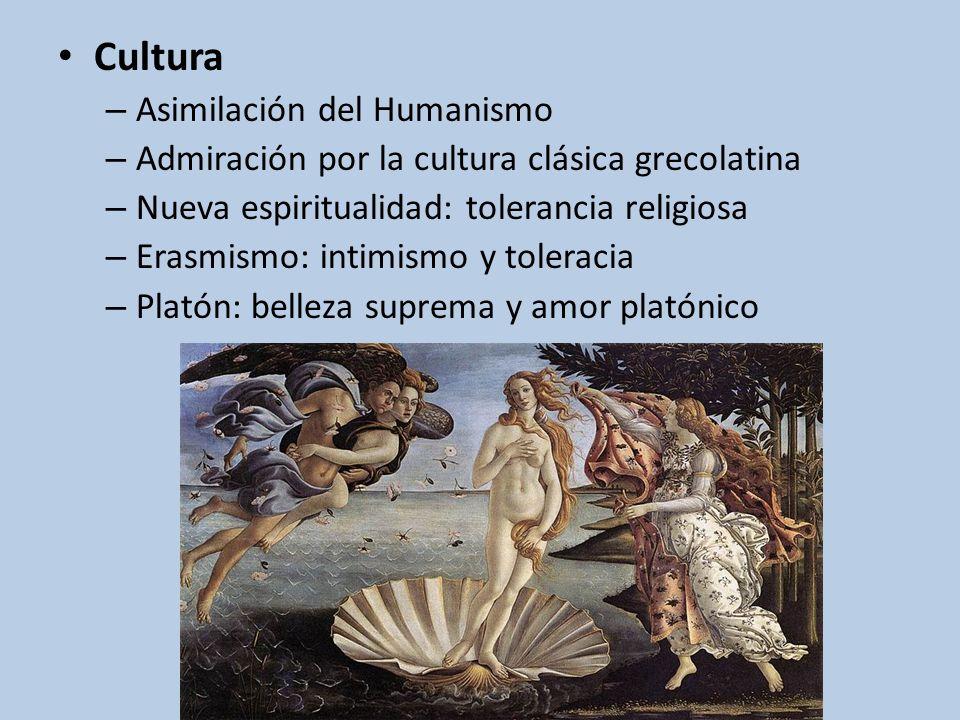Cultura Asimilación del Humanismo