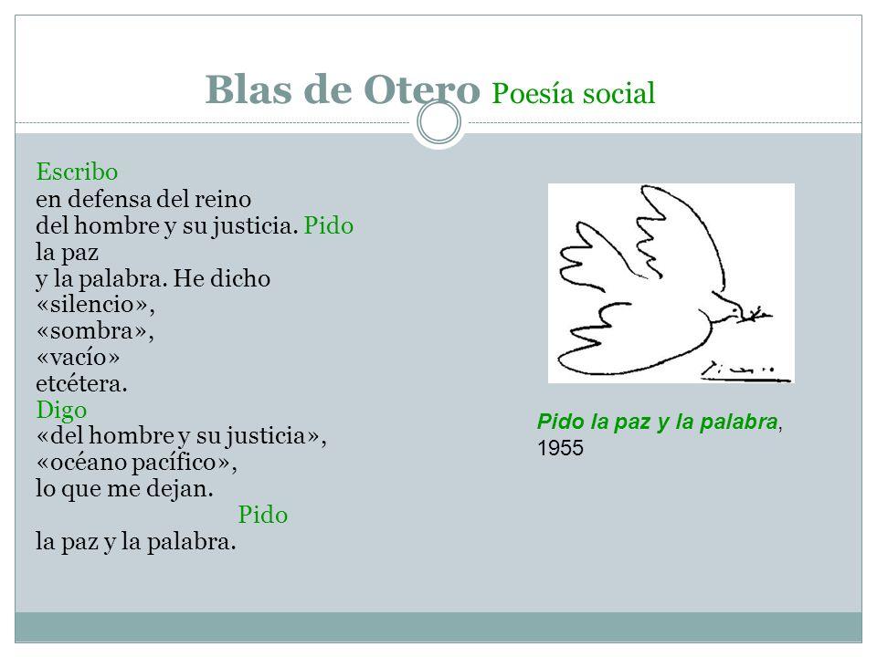 Blas de Otero Poesía social