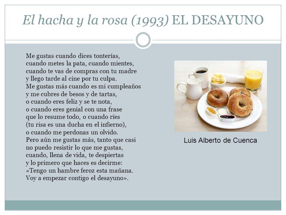 El hacha y la rosa (1993) EL DESAYUNO