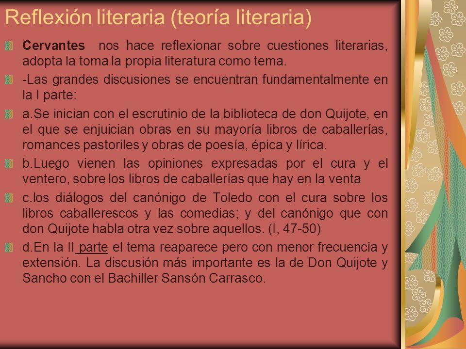 Reflexión literaria (teoría literaria)