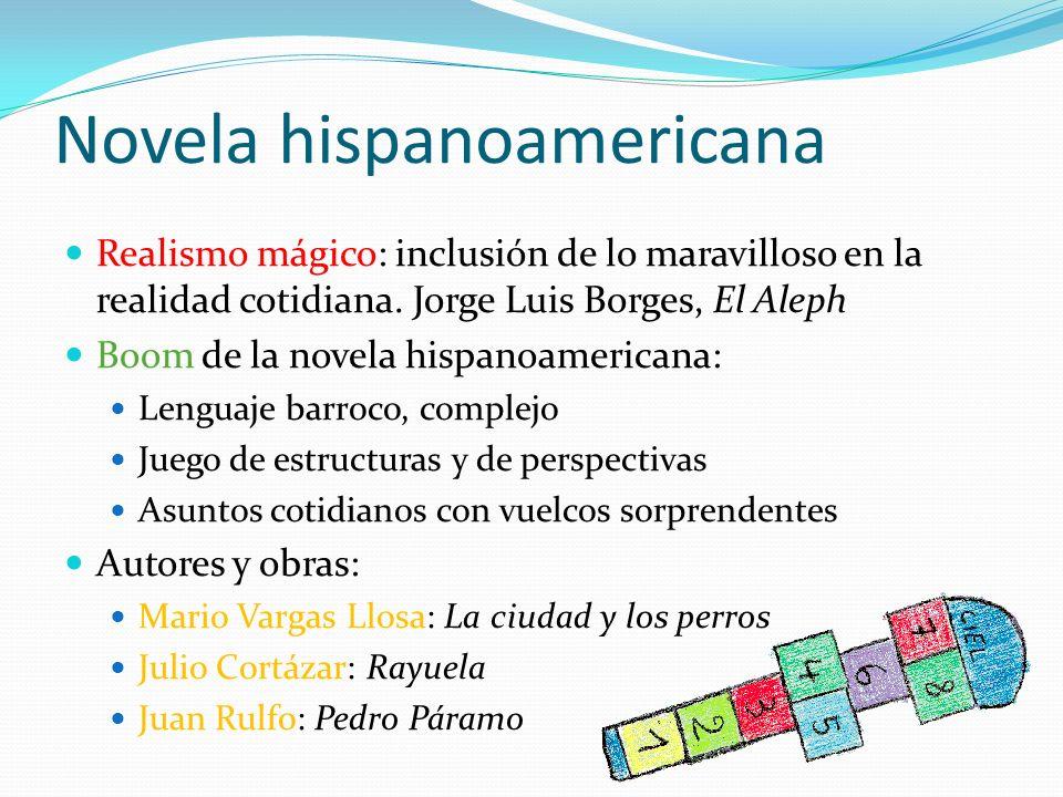 Novela hispanoamericana