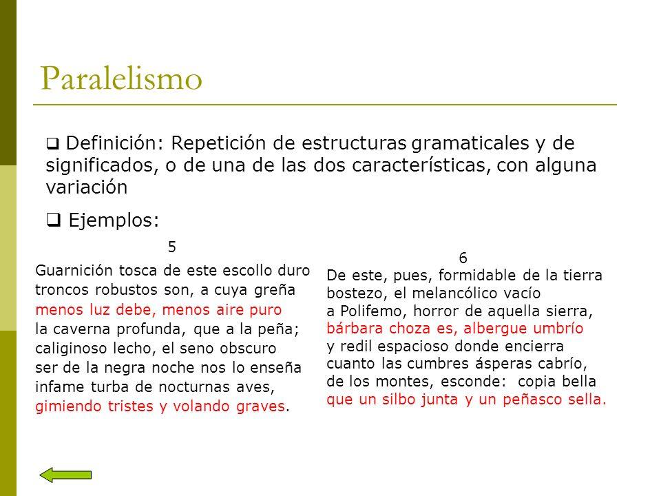 Paralelismo 5 Ejemplos: