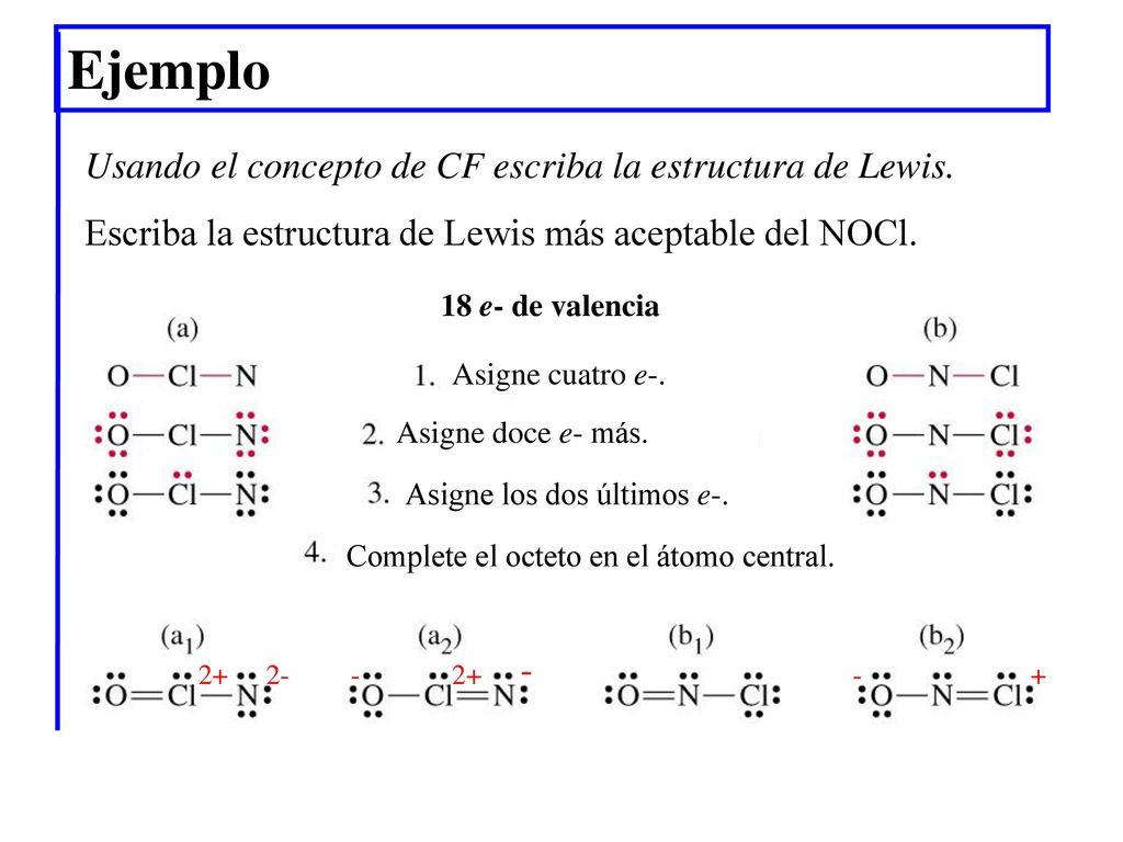 Excepcional Lewis Estructuras De Hoja De Cálculo Imagen - hojas de ...