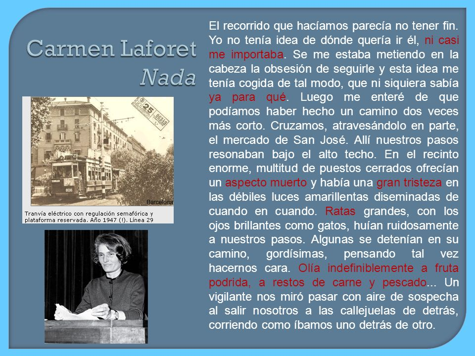 Carmen Laforet Nada