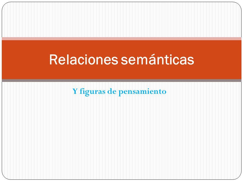 Relaciones semánticas