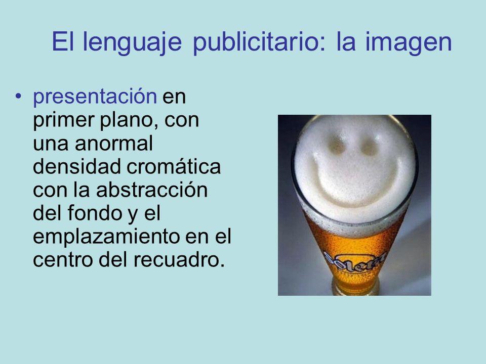 El lenguaje publicitario: la imagen
