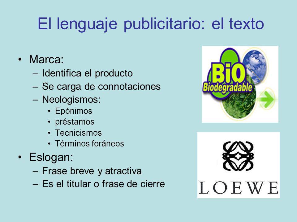 El lenguaje publicitario: el texto