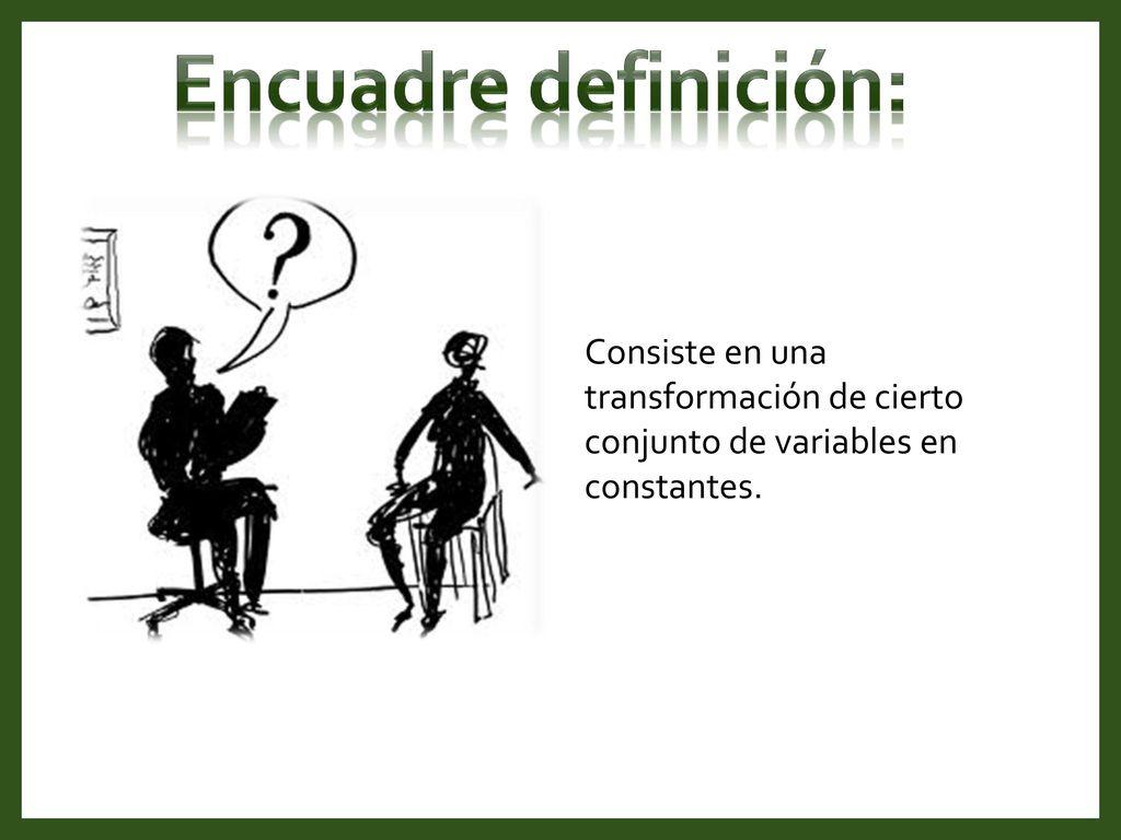 Excepcional Definición Psicología Encuadre Componente - Ideas de ...