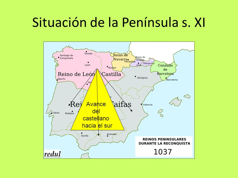 Situación de la Península s. XI