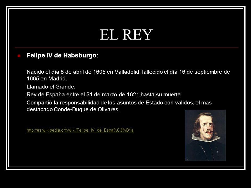 EL REY Felipe IV de Habsburgo: