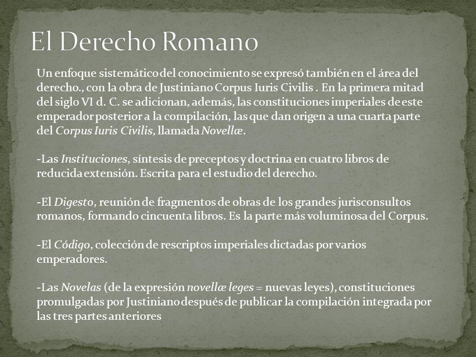 El Derecho Romano