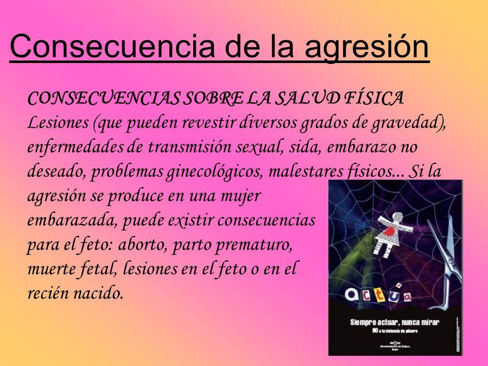 Consecuencia de la agresión