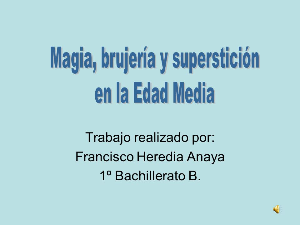 Trabajo realizado por: Francisco Heredia Anaya 1º Bachillerato B.