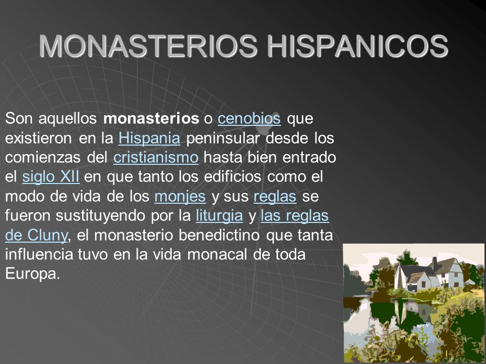MONASTERIOS HISPANICOS