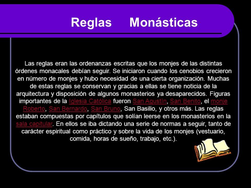 Reglas Monásticas